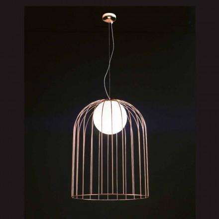 Selene Kluvì hanglamp geblazen glazen Ø54 H 70 / 200cm