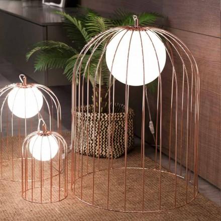 Selene Kluvì van ontwerp tafellamp geblazen glazen Ø54 H 70cm
