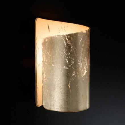 Selene Papiro applique kristal modern design made in Italy