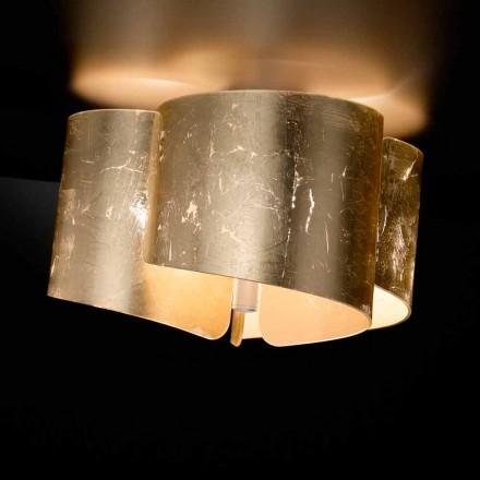 Selene Papiro plafondlamp kristal gemaakt in Italië O46 H28cm