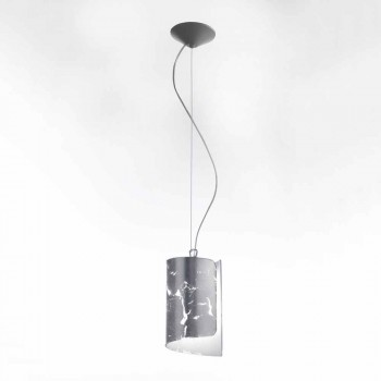 Selene papyrus moderne kristallen hanglamp Ø15 H 125cm