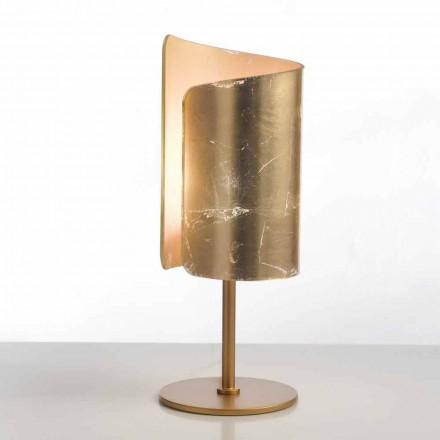 Selene Papiro design tafellamp kristal Ø15 H38cm