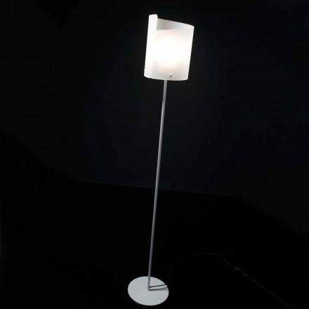 Selene Papiro ontwerper staande lamp H185cm kristal Ø26