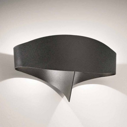 Selene Shield applique modern design gelakt staal