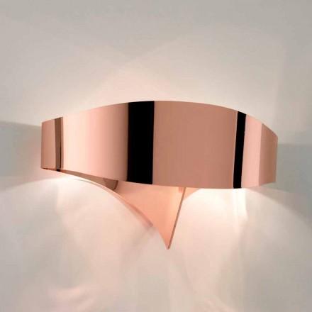 Selene wandlamp Shield galvanische modern design, made in Italy