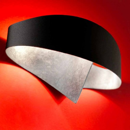 Selene wandlamp Shield two-tone modern design 29x15xH16 cm
