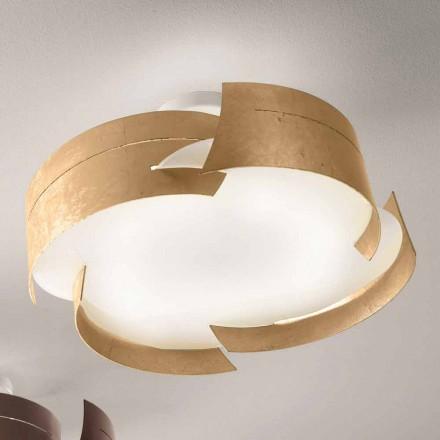 Selene Vultur ontwerp plafond Ø59,5 H 25cm Made in Italy