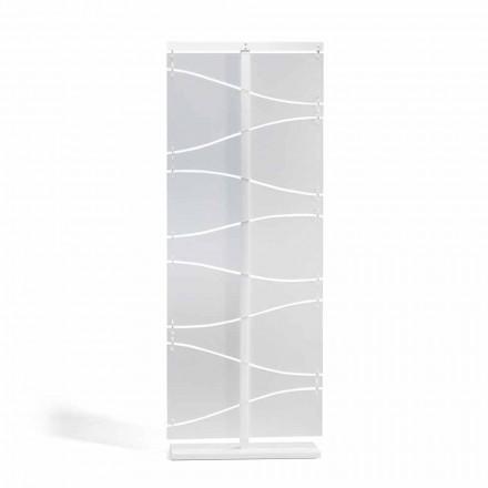 Booth modern design in wit satijn methacrylaat Mara