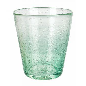 12 stuks gekleurde geblazen glazen waterglazen service - Yucatan