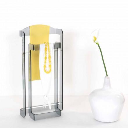 Modern design Servomuto plexiglas gerookte Mose, made in Italy