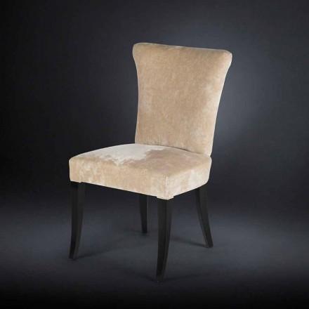 September 2 mooie stijl stoelen bekleed époque kleur ecru Fingers