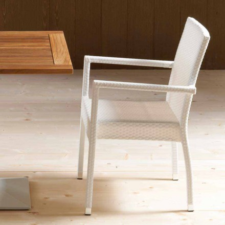 September 4 moderne stoelen uit de tuin Portorotondo