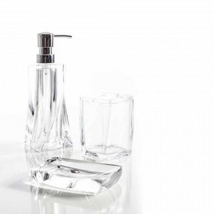 Torraca set dispenser + tumbler + zeepbakje voor badkamerontwerp