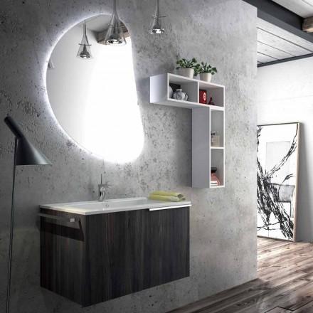 Hangende badkamermeubelsamenstelling gemaakt in Italië, verdrietig