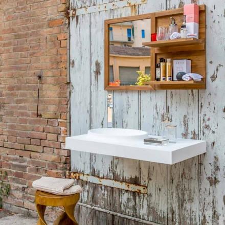 Brusson solide badkamermeubels set van modern design