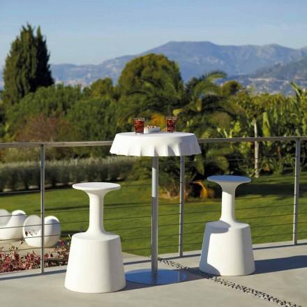 Hoge barkruk voor outdoor Modern Slide Drink gemaakt in Italië