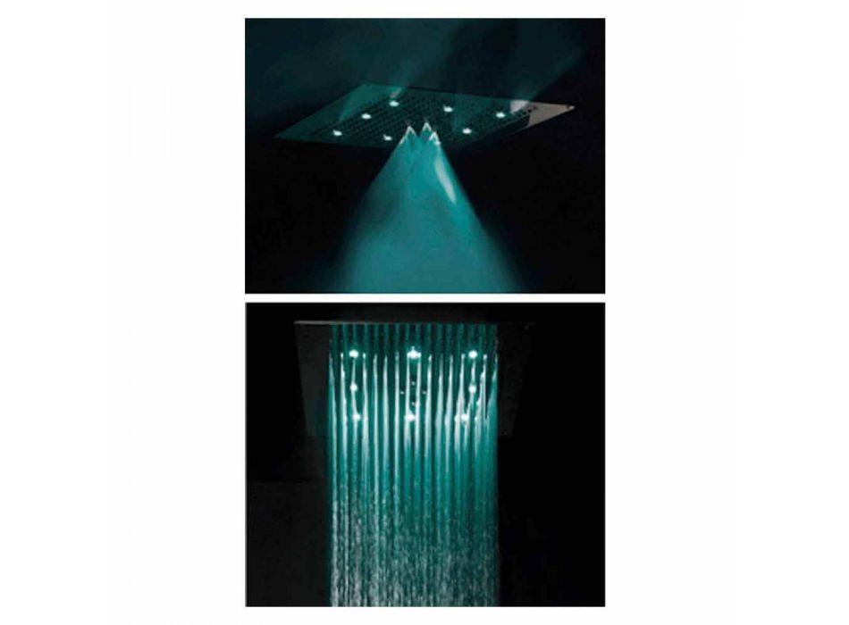 Plafond douchekop met LED-twee jets Bossini Dream Neb
