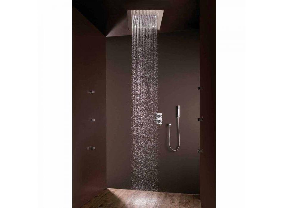 Douche modern design met regen jet en LED-verlichting