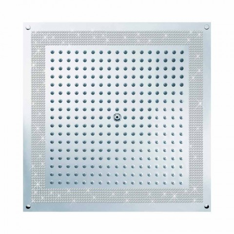 Douche kop met inzetstukken in Swarovski Cube Bossini