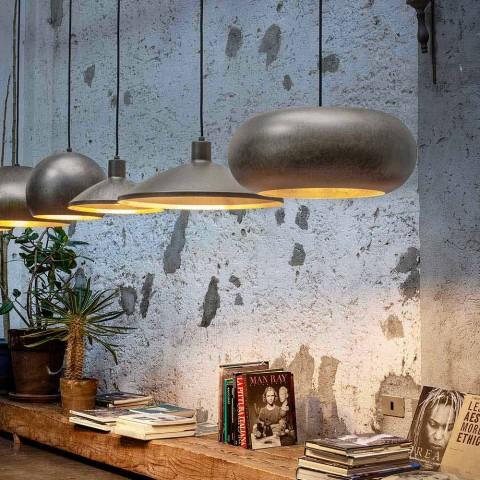 Antiek stalen ophangingsdiameter 450 mm - Materia Aldo Bernardi