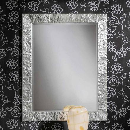 Antonio goud gemaakt in Italië ayous gemaakt met de hand houten muur spiegel in hout