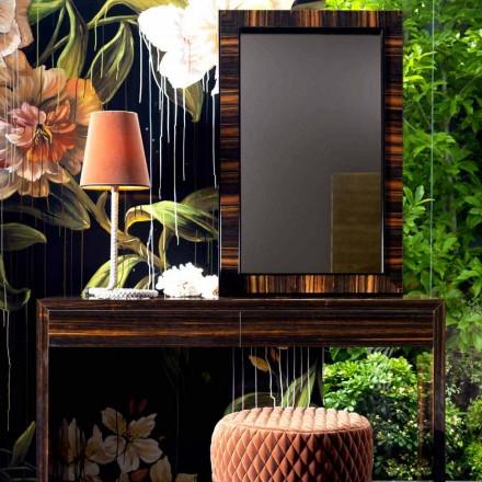 Wandspiegel / ebbenhout Grilli Zarafa gemaakt in Italië