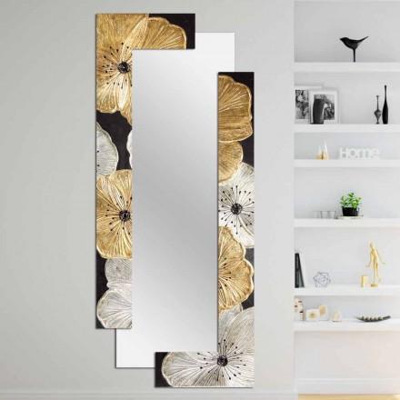 Designspiegel met dubbele wand gemaakt in Italië door Daiano