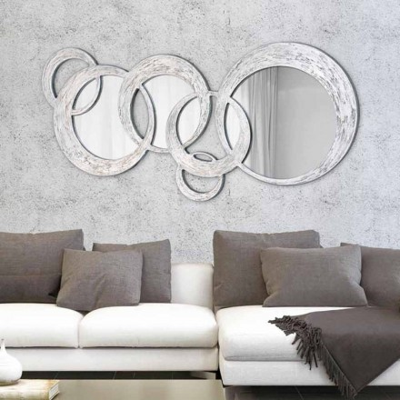 Design wandspiegel Circles by Viadurini Decor