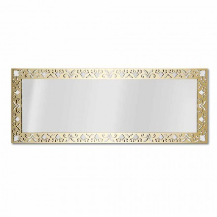 Wandspiegel in goud, zilver of brons plexiglas met frame - nectar