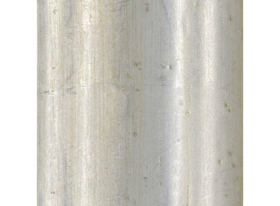 Sparren houten wandspiegel handgemaakt in Italië Franco