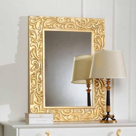 Mirror als Pepa 75x100 cm Designer vloer, made in Italy