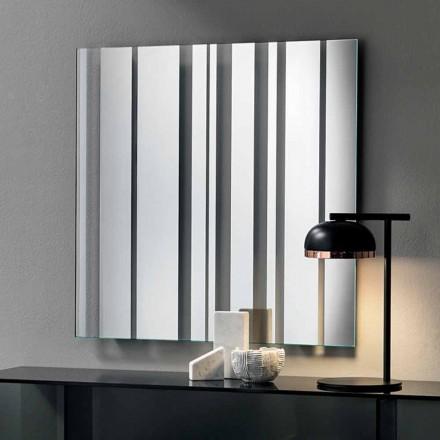Moderne design vierkante wandspiegel gemaakt in Italië - Coriandolo