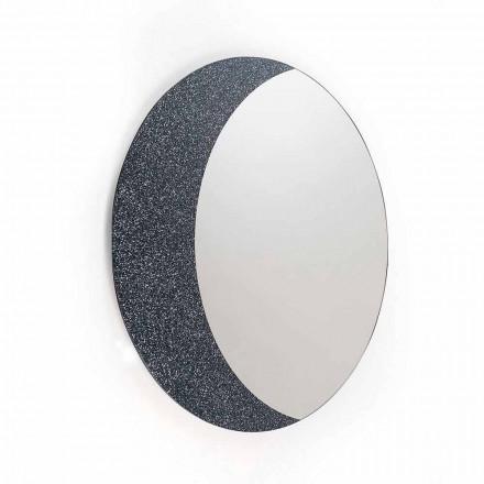 Een muur spiegel 100% Made in Italy hedendaags design Aldo