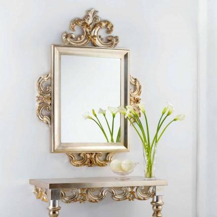 Een muur spiegel klassiek design Guy, 113x155 cm, made in Italy