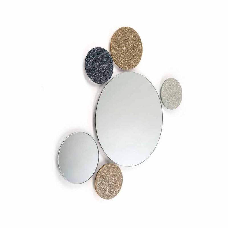 Mirror Ronde ontwerp muur Modeno gedaan in Italië ADDO