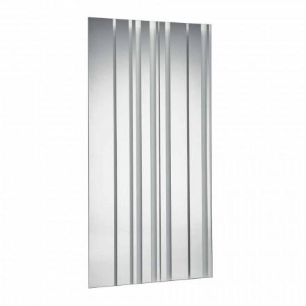 Modern design rechthoekige wandspiegel gemaakt in Italië - Coriandolo