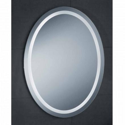 Spiegel modern design met LED-verlichting bad Pure