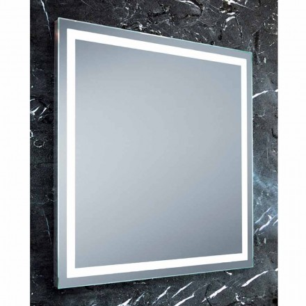 Spiegel modern design badkamers met LED-verlichting Paco