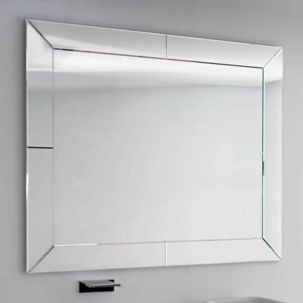 Spiegel gebonden rand modern grond, H120 x L120CM, Daedalus