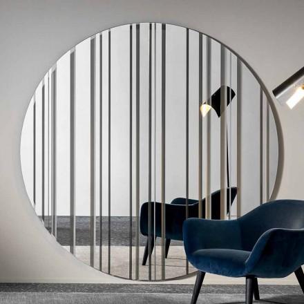 Ronde Design Wandspiegel Diameter 200 cm Gemaakt in Italië - Coriandolo