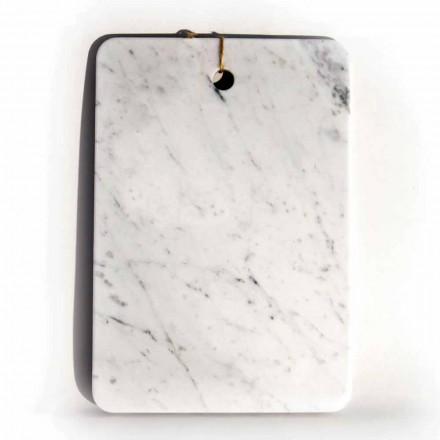 Made in Italy Design snijplank in Carrarra wit marmer - Masha