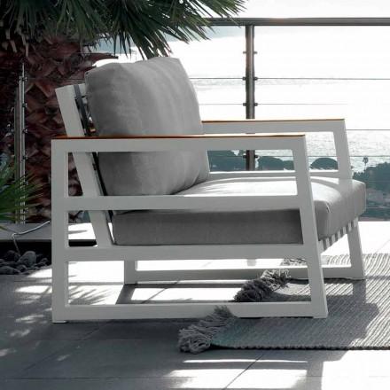 Talenti Alabama design tuinfauteuil gemaakt in Italië