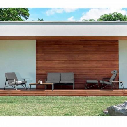Talenti Cottage samenstelling moderne tuinstoelen gemaakt in Italië