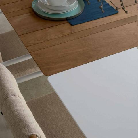 Talenti Domino uitschuifbare tuintafel 200 / 260cm gemaakt in Italië