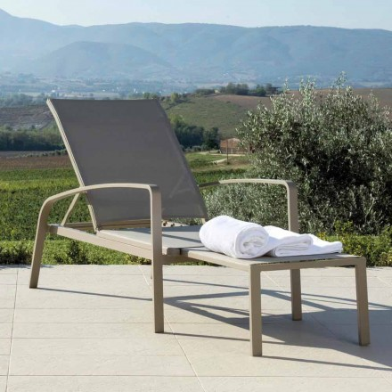 Talenti Lady fauteuil design tuinbed gemaakt in Italië