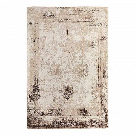 Vintage design woonkamertapijt van polyester en katoen - Hola