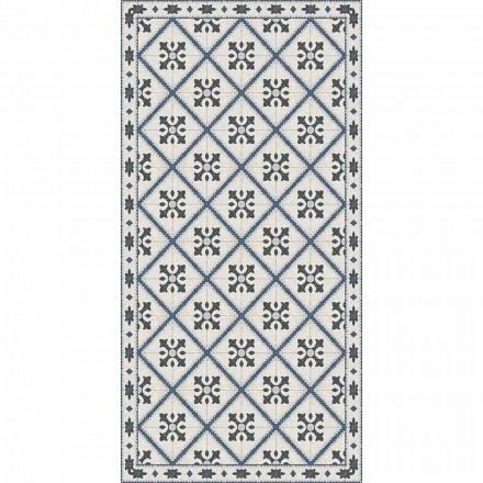 Modern rechthoekig vinyl vloerkleed voor in de woonkamer - Berimo
