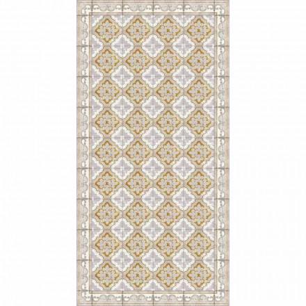 Modern design rechthoekig vinyl vloerkleed voor woonkamer - Dorado