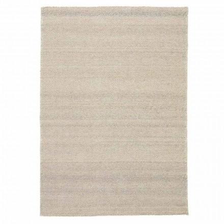 Modern handgeweven polyester en katoenen woonkamertapijt - Soledad