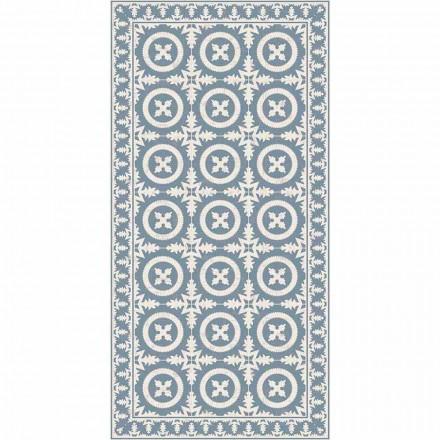Modern woonkamertapijt in beige of blauw fantasie-vinyl - Bondo